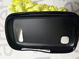 Чохол для Nokia N200/N201 (чорний силікон), фото 3