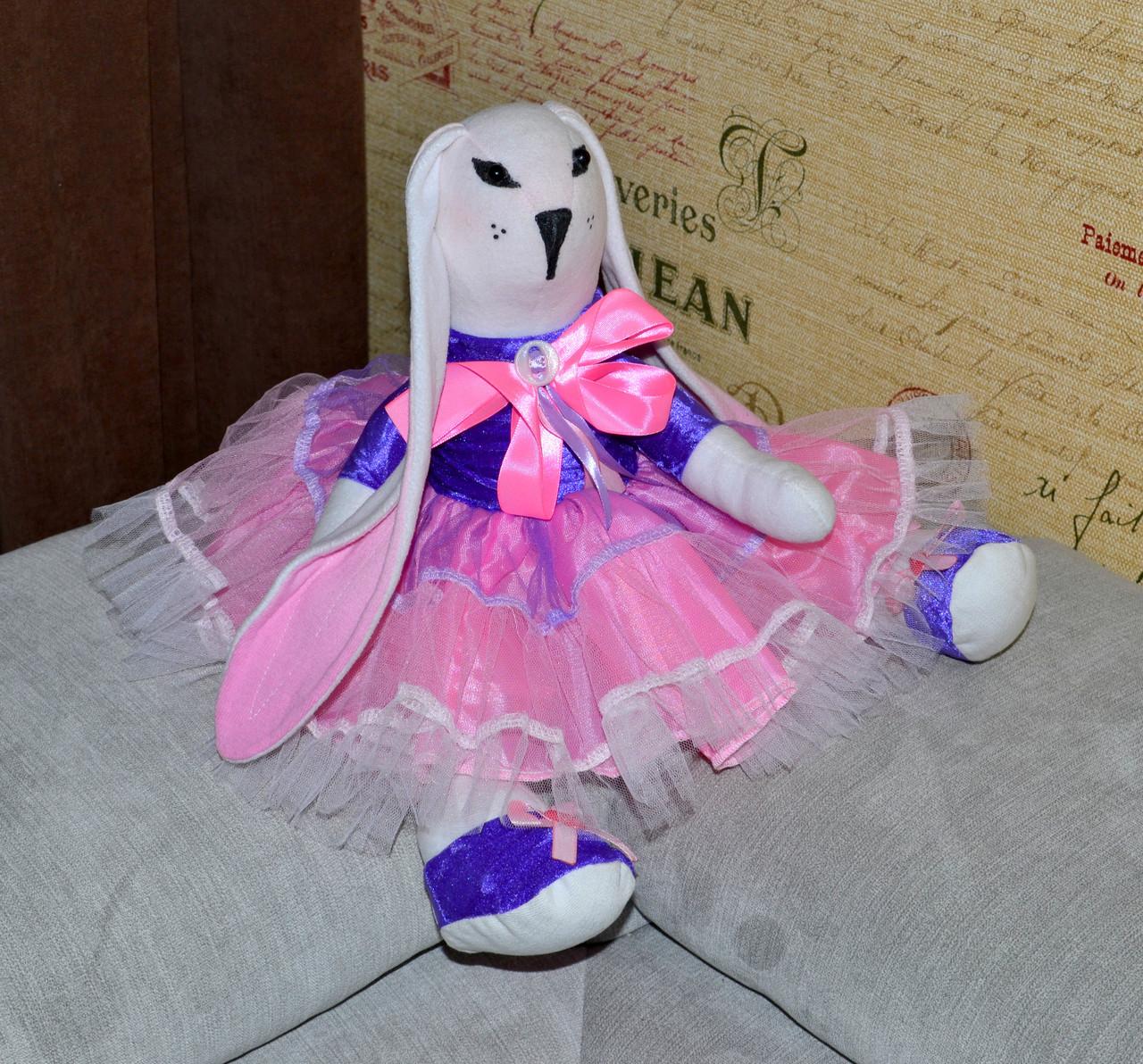 Зайчик девочка кукла 43 см