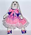Зайчик девочка кукла 43 см, фото 2