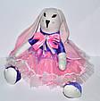 Зайчик девочка кукла 43 см, фото 3
