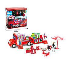 Ігровий набір Автобус-будиночок Леді Баг