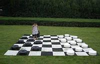 Шашки Гигантские уличные парковые напольные садовые, фото 1