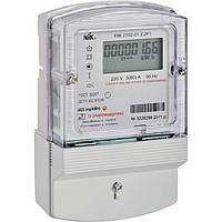 Электросчетчик NIK 2102-01.E2MCTP1-однофазный одноэлементный многотарифный счетчик электроэнергии