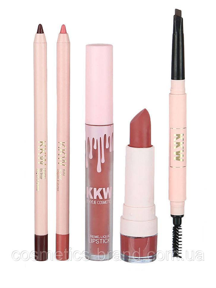 Комплект для макияжа Kylie Jenner KKW Kiki (реплика)