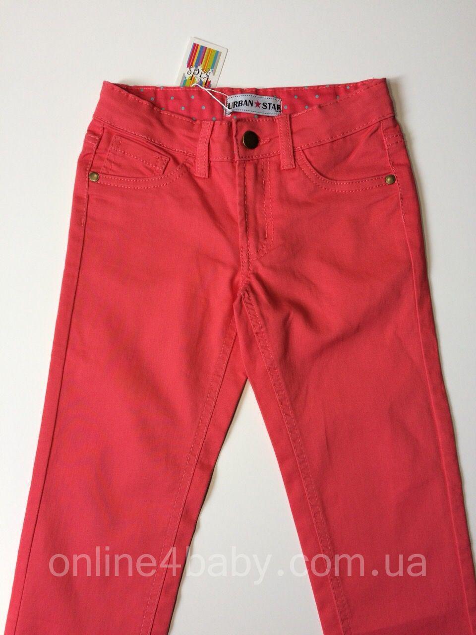 Стрейчеві джинси дитячі Urban Star на дівчинку 7 років, зріст 128