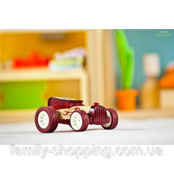 """Деревянная игрушка машинка из бамбука """"Bruiser"""""""