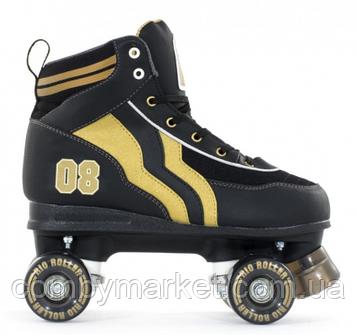 Роликовые коньки Rio Roller Varsity черный-золото