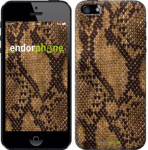 """Чехол на iPhone 5s Змеиная кожа """"2359c-21-571"""""""