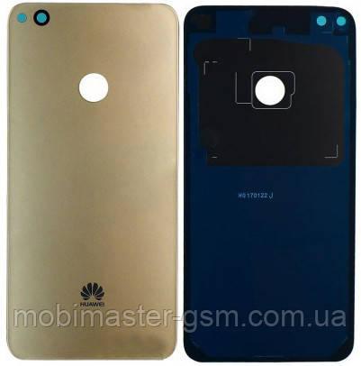 Задняя крышка Huawei P8 Lite, Nova Lite золотистая, фото 2