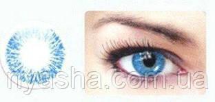 Голубые линзы для зрения 1