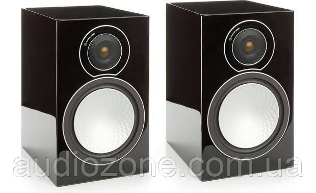Акустическая система полочная Monitor Audio Silver Series 50 Black Gloss