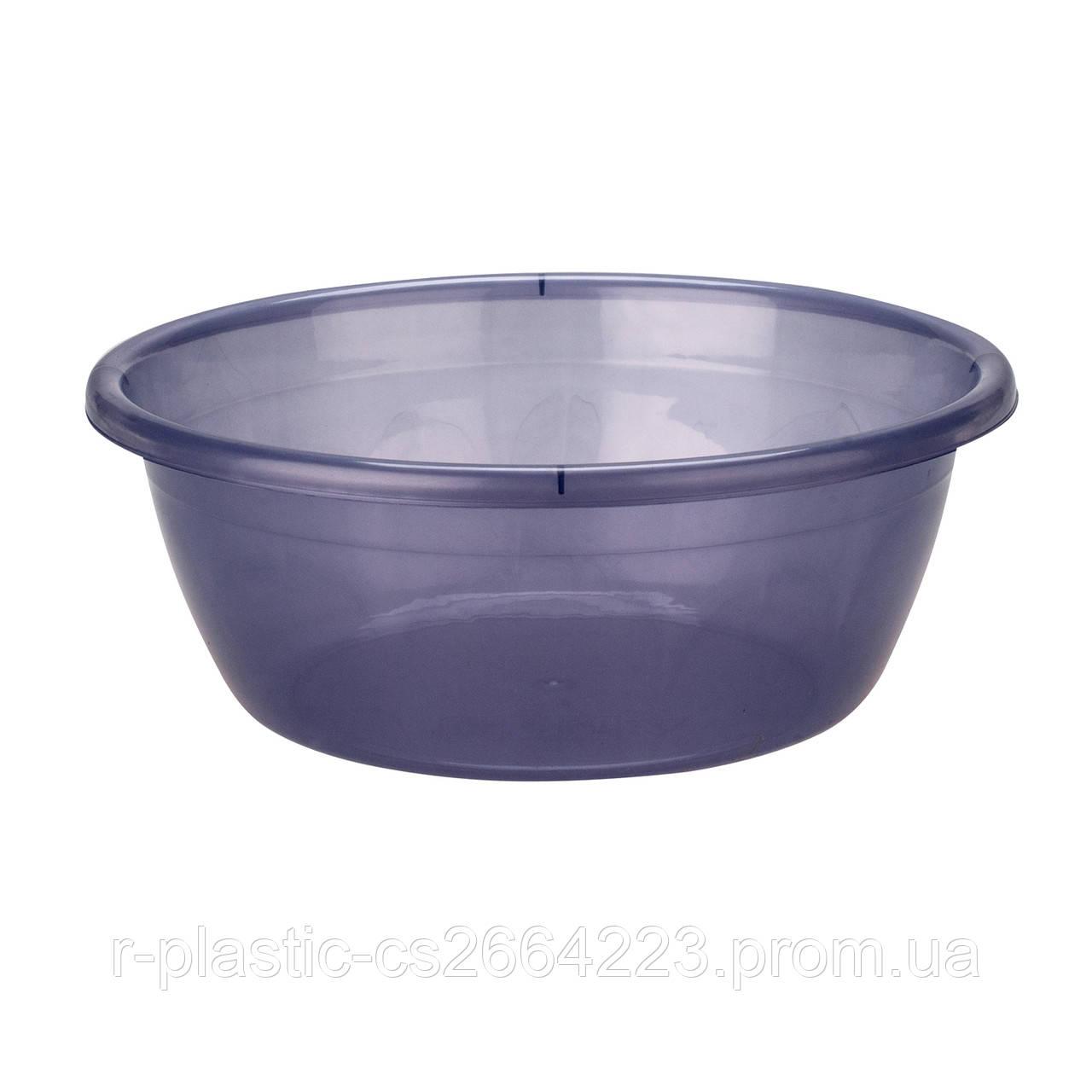Миска R-Plastic прозрачная 4,5л фиолетовая