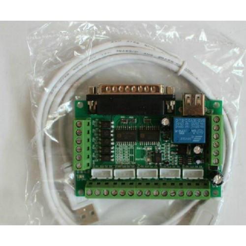 Интерфейсная плата управления 5осей Mach3 USB