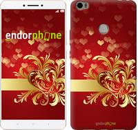 "Чехол на Xiaomi Mi Max Ажурные сердца ""734c-275-571"""