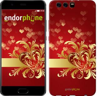 "Чехол на Huawei P10 Plus Ажурные сердца ""734u-963-571"""