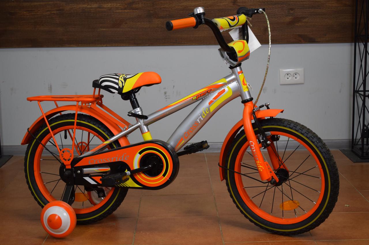 """Детский велосипед 16"""" Crossride Sport (Ardis)"""