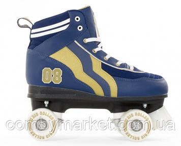 Роликовые коньки Rio Roller Varsity синий-золото