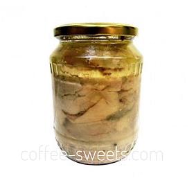 Печень трески Высший сорт 500г натуральная