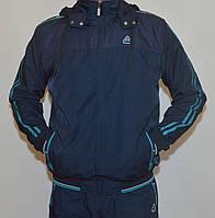 Спортивный мужской костюм с плащевки SOCCER (M-2XL) 2852