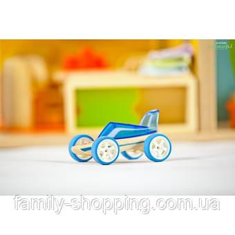 """Деревянная игрушка машинка из бамбука """"Roadster"""""""