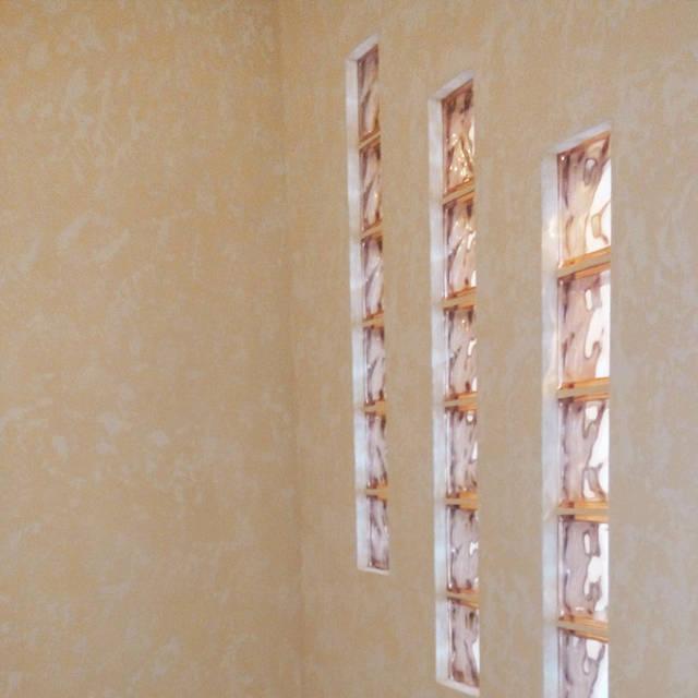 Эффект песка на стене