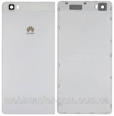 Задняя крышка Huawei P8 Lite (ALE-L21) белая, фото 2