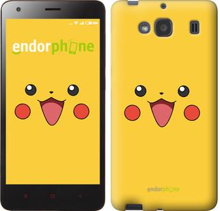 """Чехол на Xiaomi Redmi 2 Pikachu pokemon go v2 """"3770c-98-571"""""""