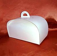 Коробка для пирожных, тортиков 210*110*75 мелованный картон, фото 1