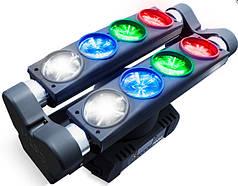 "Двойная многолучевая RGBW LED ""голова"" MARQ RAY TRACER X QUAD"