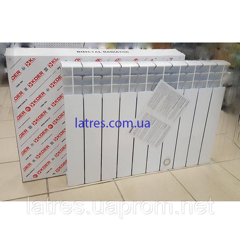 Радиатор биметаллический 500/96 Koer