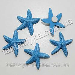 Декор на липучке, Морская звезда керамическая 25мм