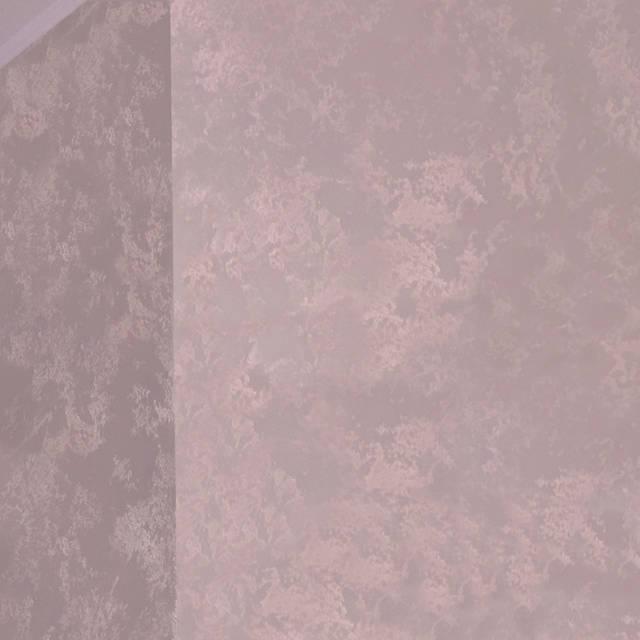 Штукатурка Кристальная фактура в спальне