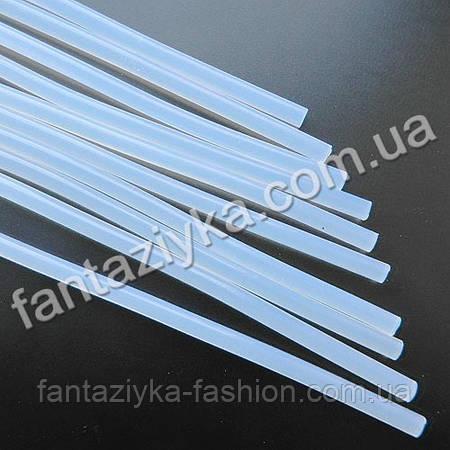 Термоклей прозрачный 7мм, длина 20см