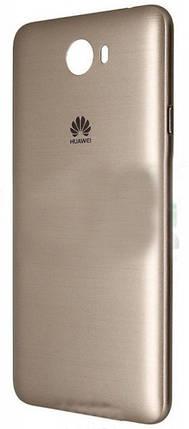 Задняя крышка для телефона Huawei Y5 II золотистая, фото 2
