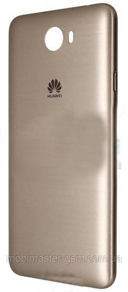 Задняя крышка для телефона Huawei Y5 II золотистая
