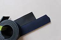Полосы из натуральной кожи с покрытием для ремней синие, толщина 3.5 мм, арт. СКУ 9002.1696