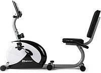 Горизонтальный велотренажер Hop-Sport HS-65R Veiron black/white, фото 1