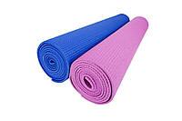 Мат для тренувань 3мм (синій, рожевий) / Мат тренировочный, 3 mm (синий, розовый)