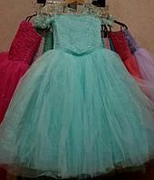 Детские праздничные нарядные платья Виолетта, возраст 7 - 8 лет, опт и розница- S223