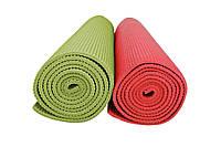 Мат для тренувань, 4мм (зелений, червоний) / Мат тренировочный, 4 mm (зеленый, красный)
