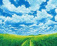 Раскраска для взрослых Украинская степь (BK-GX23516) 40 х 50 см [Без коробки]
