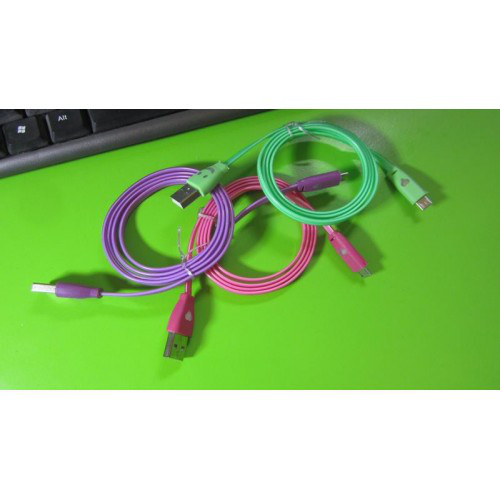 Кабель для зарядки micro USB с подсветкой 1 м