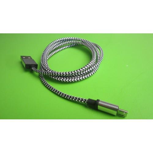 Кабель data для зарядки micro USB to USB 1 м
