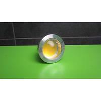 LED корпус с линзой пластик для светильника 5W COB