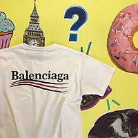 Футболка Balenciaga, линии
