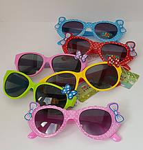 Солнцезащитные очки для девочки с бантиками