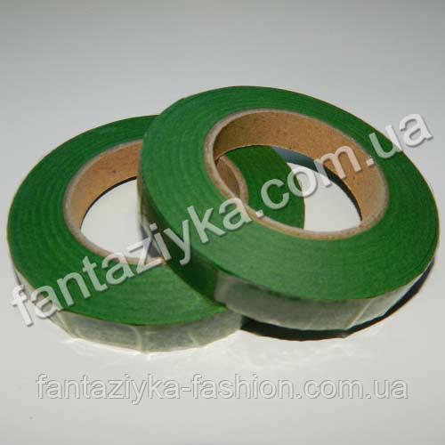 Тейп-лента флористическая зеленая
