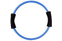Коло для пілатесу Hop-Sport (синій) / Круг для пилатеса Hop-Sport DK2221 Blue, фото 1