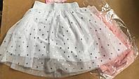 Юбки нарядные для девочек S&D 4-12 лет