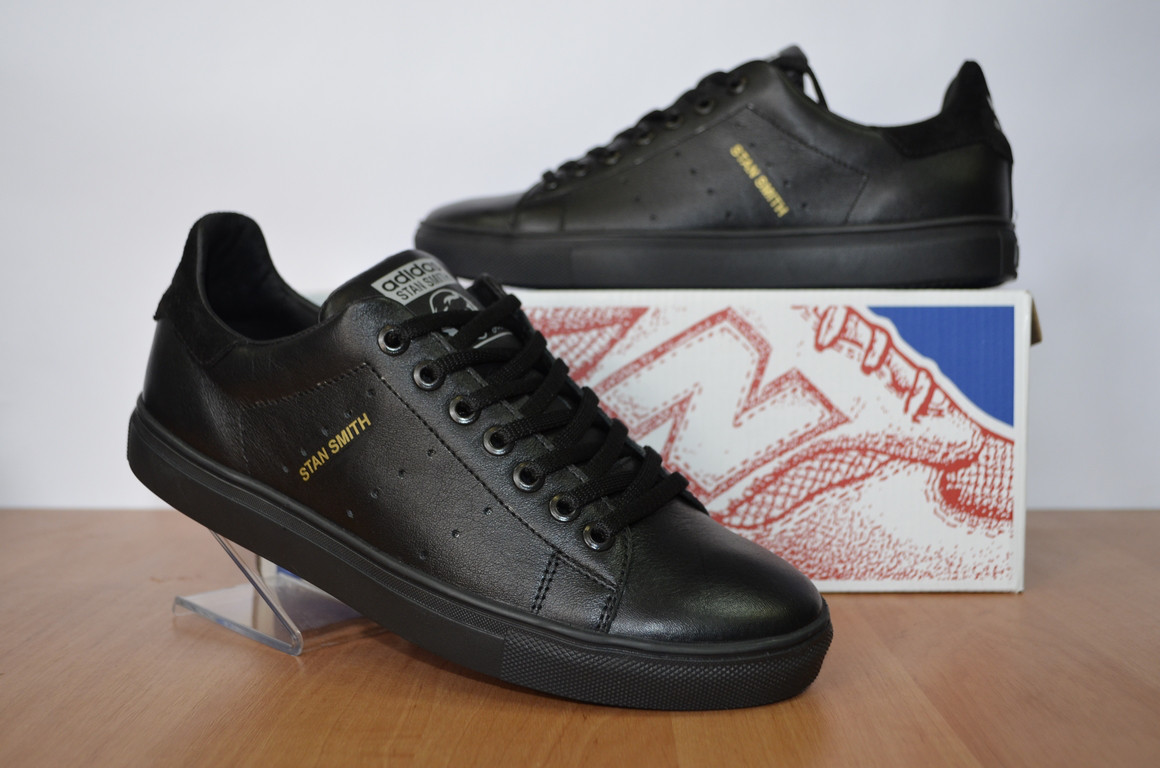 Кожаные кроссовки Adidas Sten Smith.Мужские кроссовки.Натуральная кожа 677901ac4d0